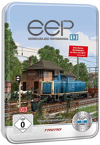 EEP Eisenbahn EXE: Eisenbahn.exe 13 Platinum in dekorativer Metall-Reliefbox (EEP)