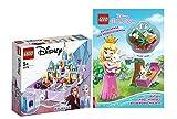 Lego Disney Princess Set: 43175 - Anna und ELSA Märchenbuch + Rätselspaß für Prinzessinnen (Deutsch) Taschenbuch, ab 5 Jahren
