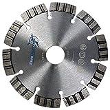 Profi Allround Diamant Trennscheibe LASER TURBO, 125mm, H 22,23, Granit, Dachziegel, universell, Stahlbeton, Beton, Mauerw extrem schnittfreudig und lange Standzeit