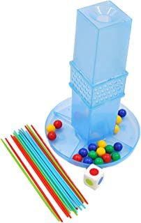 Prettyia Mini Desktop Toys - Tabletop Pull Rod Game Fun Board Game for Kids Adult