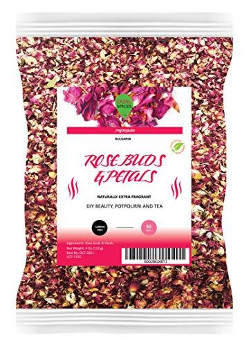 Dualspices Rose Buds & Petals Tea 4 Oz