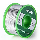 <span class='highlight'><span class='highlight'>AUSTOR</span></span> 1.2mm Lead Free Solder Wire with Rosin Core, Sn 99% Ag 0.3% Cu 0.7%, 100g