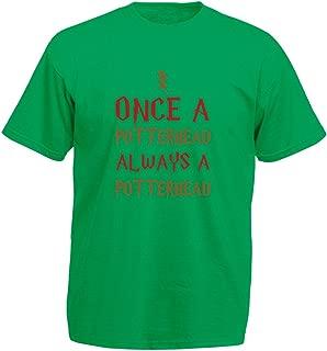 Potterhead, Mens Printed T-Shirt - Kelly Green/Transfer M