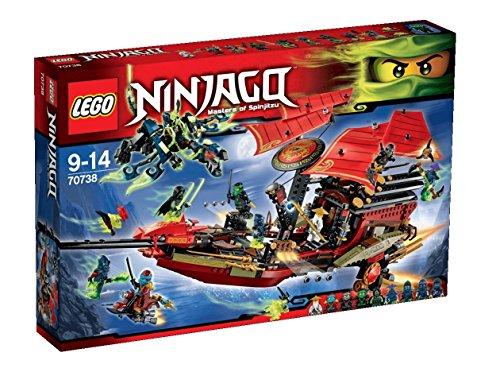 LEGO NINJAGO 70738 - letzte Flug des Ninja-Flugseglers