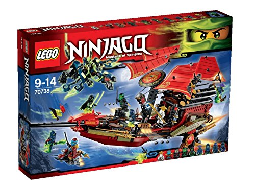 LEGO NINJAGO 70738 Final Flight of Destiny's Bounty