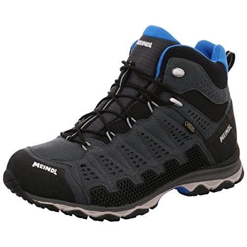 Meindl Herren Outdoorschuhe Wanderschuhe X-SO 70 MID GTX anthrazit-blau, Schuhe:UK 10/44.5