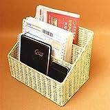 Revistero Archivos,Organizador de Documentos Desktop Storage Box,Cesta de almacenamiento de revistas ambientales,revistero clasificado,dormitorios de estudiantes,almacenamiento de archivos en el hogar