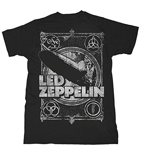 Led Zeppelin T-Shirt Shook Me da uomo in nero