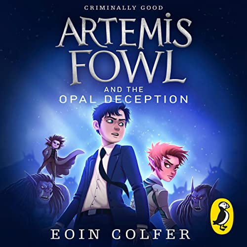 Artemis Fowl and the Opal Deception cover art