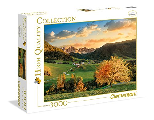 Clementoni- The Alps High Quality Collection Puzzle, Multicolore, 3000 pezzi, 33545