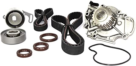 DNJ TBK214WP Timing Belt Kit with Water Pump/For 1994-2002 / Acura, Honda, Isuzu/Accord, CL, Oasis, Odyssey / 2.2L, 2.3L / SOHC / 16V / 2156cc, 2234cc, 2254cc / F22B1, F23A1, F23A4, F23A5, F23A7