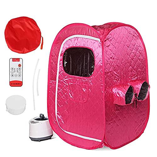 GJXJY Portable Personal Steam Sauna Full Body Spa Foldable Sauna Tent 2L...