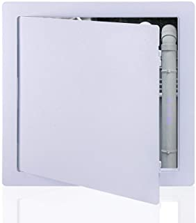 Sponsored Ad - Suteck Plastic Access Panel for Drywall Ceiling 12 x 12 Inch Reinforced Plumbing Wall Access Doors Removabl...