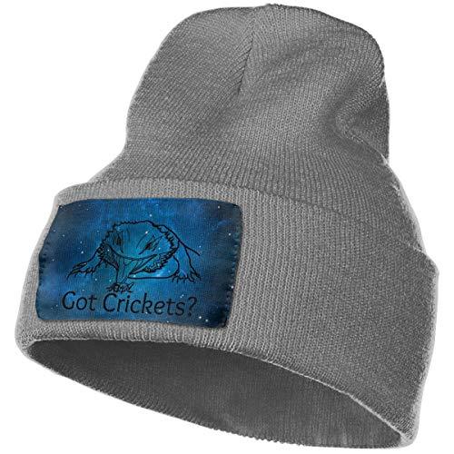 Hdadwy Got Crickets Winter Beanie Hat Gorro de Punto para Hombre y Mujer