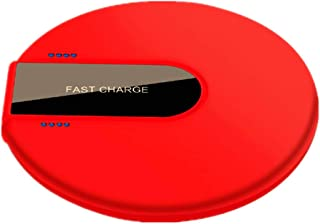 Hoidokly Cargador Inalámbrico Rápido Qi, 10W Fast Wireless Charger para iPhone XS/XS MAX/XR/X/8 /8Plus, Samsung Galaxy S9 /S8 /S7/S6/S6 Edge/Note 8/ Note 9