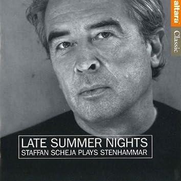 Late Summer Nights: Staffan Scheja Plays Stenhammar