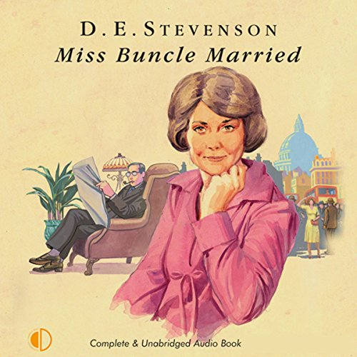 Miss Buncle Married audiobook cover art