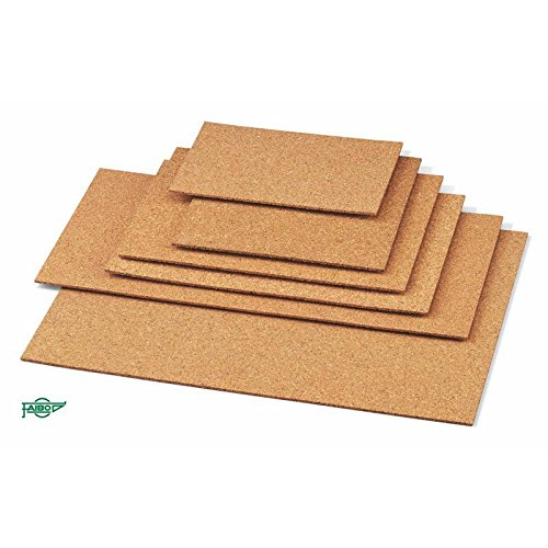Ofituria Pack 10 Laminas de Corcho Para Manualidades Medida 60X30 CM