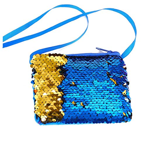 mermaid sequin shoulder bag mini
