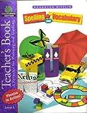 Houghton Mifflin Spelling and Vocabulary Teacher's Book California Edition Level 3