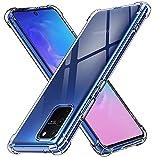 iVoler Cover per Samsung Galaxy S10 Lite, Custodia Trasparente per Assorbimento degli Urti con Paraurti in TPU Morbido, Sottile Morbida in Silicone TPU Protettiva Case