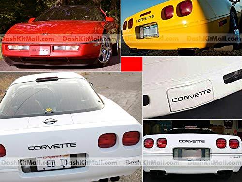 corvette c4 chrome letters - 2