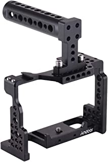 Andoer Camera Cage Stabilizer, Aluminum Alloy Camera Video Cage Compatible with Sony A7II/A7III/A7SII/A7M3/A7RII/A7RIII wi...