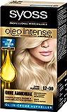Syoss Oleo Intense Haarfarbe, 12-00 Extra Platinum, 3er Pack (3 x 133 ml)