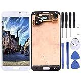 GBHGBH ES For Samsung Galaxy S5 / G9006V / G900F / G900A / G900I / G900M / G900V Pantalla LCD Original Asamblea de digitalizador de Pantalla táctil (Color : Blanco)