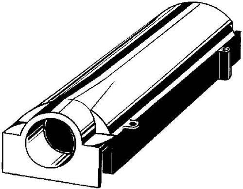Kaiser Ausgang Deckenleuchte verstellbar 138x 36x 29Durchmesser 25mm