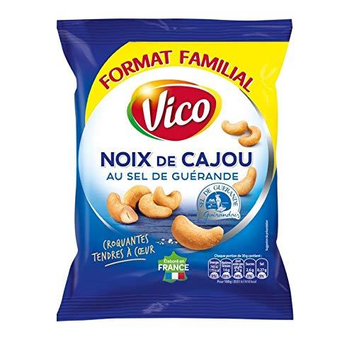 Vico - Noix De Cajou Au Sel De Guérande 160G - Lot De 3 - Prix Du Lot - Livraison Rapide En France Métropolitaine Sous 3 Jours Ouverts