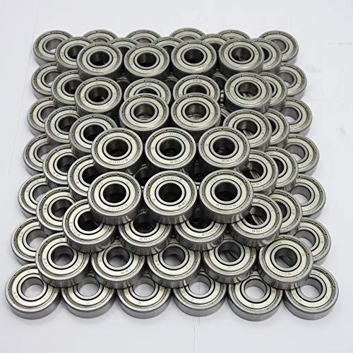 100 Stück IBB 6000 ZZ (10x26x8 mm) Kugellager, Rillenkugellager DIN 625