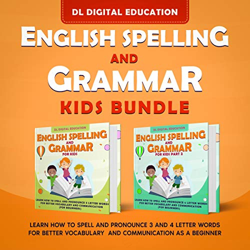 English Spelling and Grammar: Kids Bundle cover art