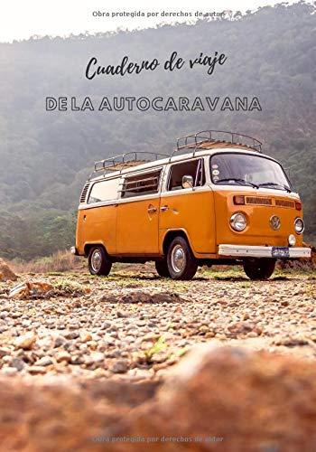 Cuaderno de viaje de la autocaravana: escapada en autocaravana | viaje en autocaravana | idea de regalo de viaje | diario de viaje a rellenar para ... sobre sus aventuras de vacaciones...