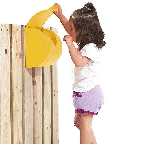 TDS Briefkasten für Spielanlagen und Kinderzimmer, gelb