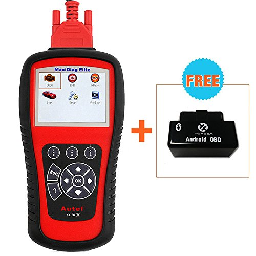 Buy Discount Autel MaxiDiag Elite MD802 OBDII/EOBD Scan Tool All Systems for Engine ABS SRS Transmis...