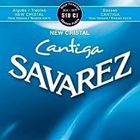 【1セット】SAVAREZ/サバレス 510CJ NEW CRISTAL/CANTIGA クラシックギター弦セット High tension
