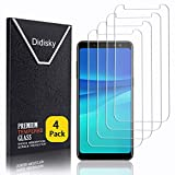 Didisky Pellicola Protettiva in Vetro Temperato per Samsung Galaxy A8 2018, [4 Pezzi] Protezione Schermo [Tocco Morbido ] Facile da Pulire, Facile da installare, Trasparente