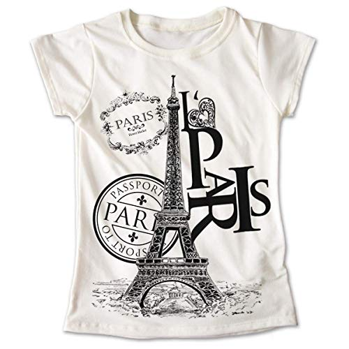 Blusa Paris Colores Playera Estampado Torre Eiffel 008