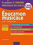 Education musicale - Oral / admission - CRPE 2018 (2018)