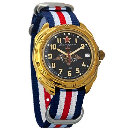 Vostok Komandirskie - Reloj de Pulsera mecánico para Hombre, diseño de Las Fuerzas aéreas Rusas