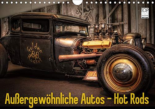 Außergewöhnliche Autos - Hot Rods (Wandkalender 2021 DIN A4 quer)