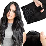 Best Sexybaby Remy Hair Extensions - SWINGINGHAIR Natural Black Hair Extensions Clip in Human Review