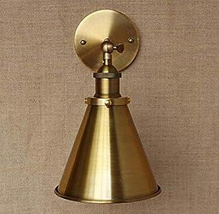 Lightlámpara De Loft Iluminación De Antigüedades De Metal De Oro Lámpara De Pared/Estilo Ajustar