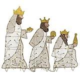 National Tree Company 42' Three Wisemen with LED...