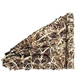 Auscamotek Camo Netting Camouflage Net for Duck Blind Material Soft Quiet -Dry Grass 5x10Ft