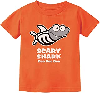 Scary Shark Doo doo doo Song Funny Halloween Toddler Kids T-Shirt