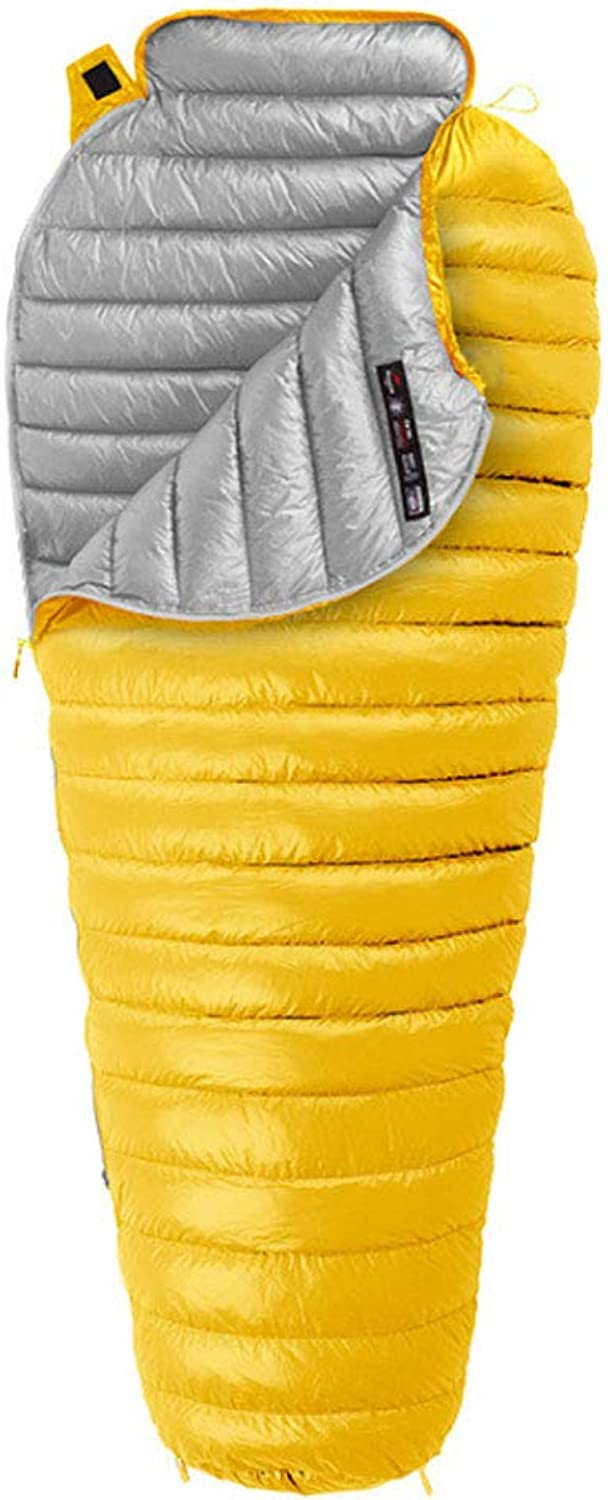 DGB Outdoor Winter Portable Ultralight Adult Mummy Down Sleeping Bag for Camping Travel