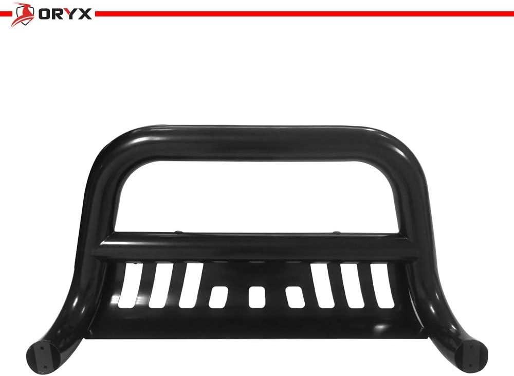 ORYX B2111UB Black Carbon Steel Bull Bar Fits Dodge Durango 2011-2015