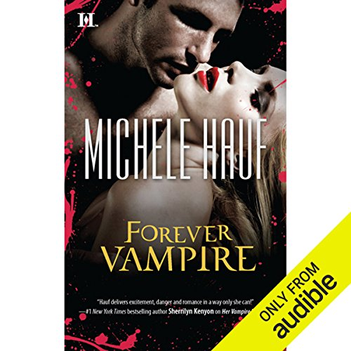 Forever Vampire audiobook cover art